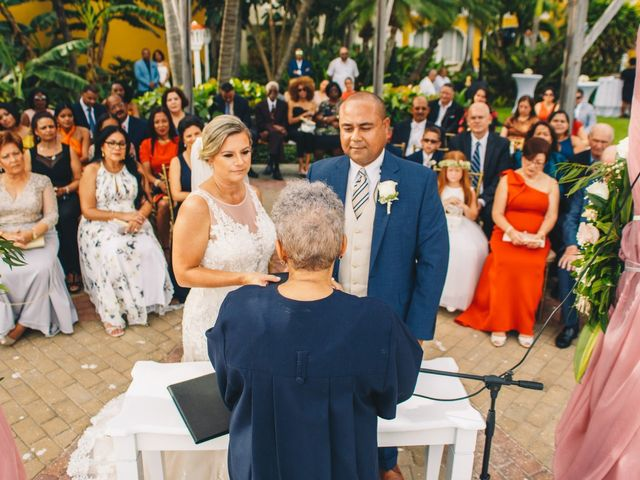 Delilah and Ulrich's Wedding in Willemstad, Curacao 10
