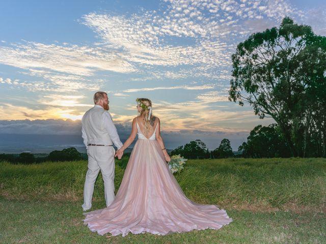 Shane and Madison's Wedding in Makawao, Hawaii 6