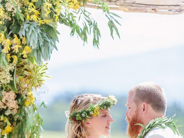 Shane and Madison's Wedding in Makawao, Hawaii 37
