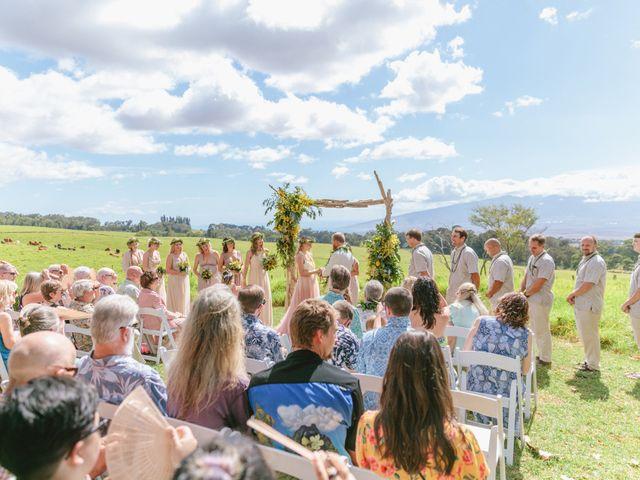 Shane and Madison's Wedding in Makawao, Hawaii 38