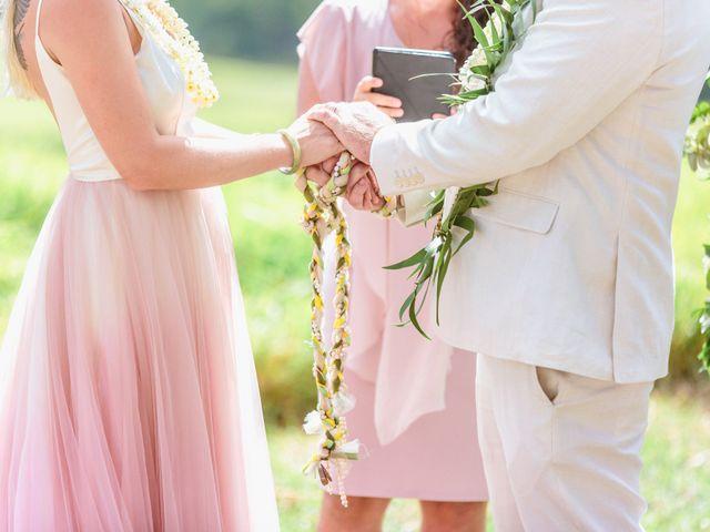 Shane and Madison's Wedding in Makawao, Hawaii 39