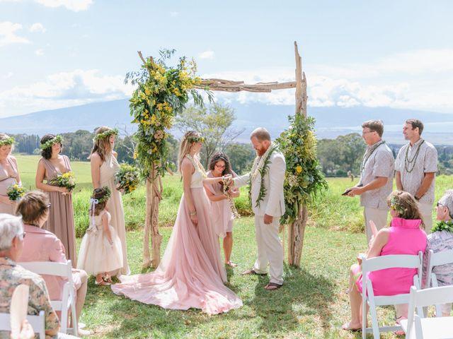 Shane and Madison's Wedding in Makawao, Hawaii 40