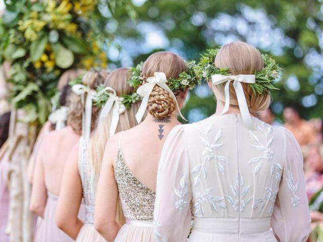 Shane and Madison's Wedding in Makawao, Hawaii 42