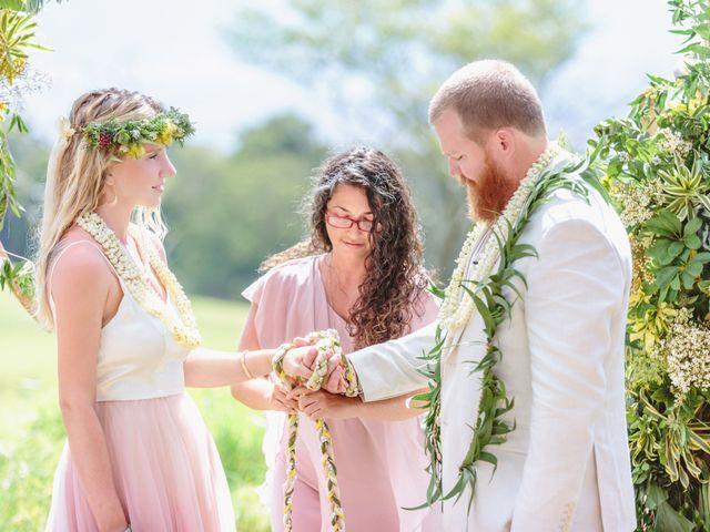 Shane and Madison's Wedding in Makawao, Hawaii 43