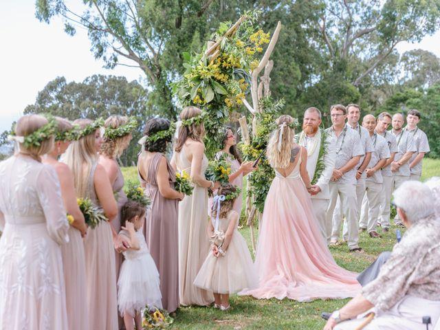 Shane and Madison's Wedding in Makawao, Hawaii 44