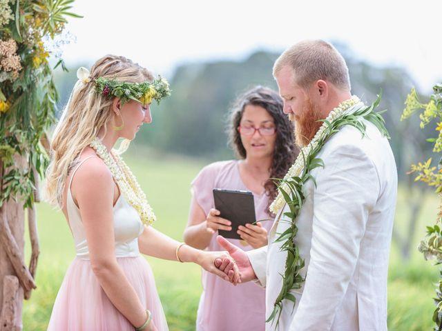 Shane and Madison's Wedding in Makawao, Hawaii 45