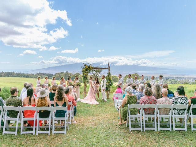 Shane and Madison's Wedding in Makawao, Hawaii 48