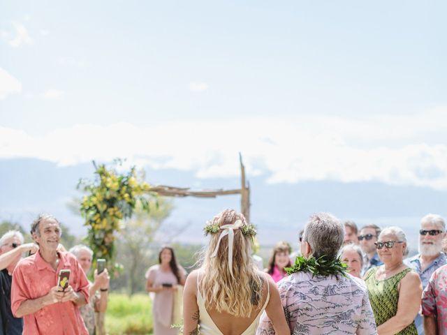 Shane and Madison's Wedding in Makawao, Hawaii 49