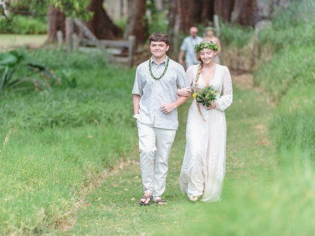 Shane and Madison's Wedding in Makawao, Hawaii 52