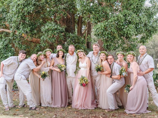 Shane and Madison's Wedding in Makawao, Hawaii 63