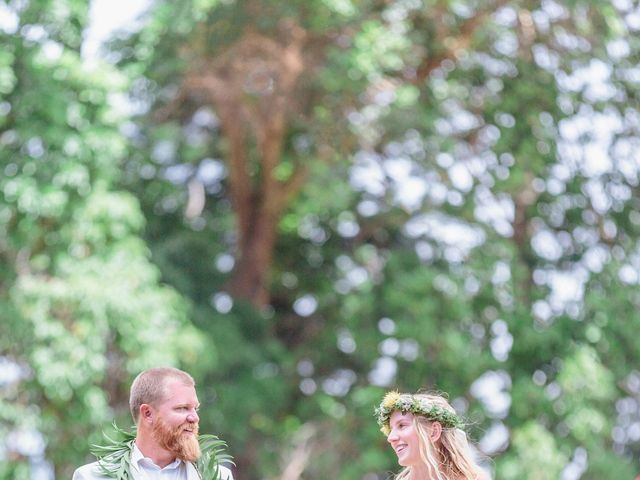Shane and Madison's Wedding in Makawao, Hawaii 65