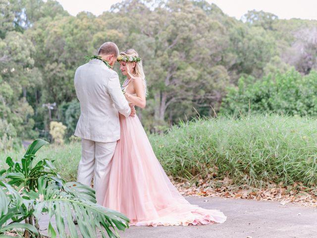 Shane and Madison's Wedding in Makawao, Hawaii 66