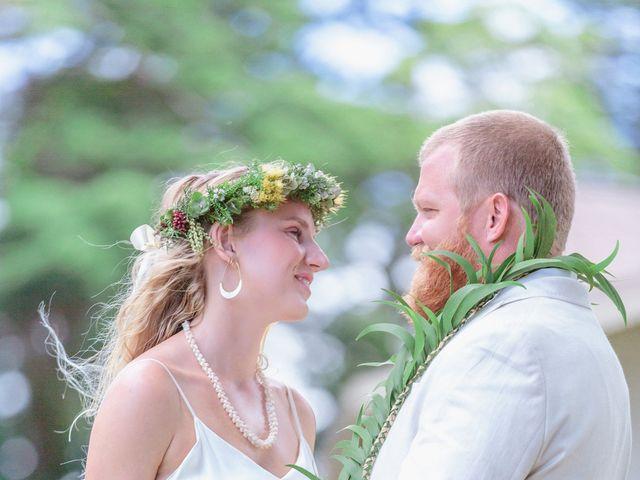 Shane and Madison's Wedding in Makawao, Hawaii 67