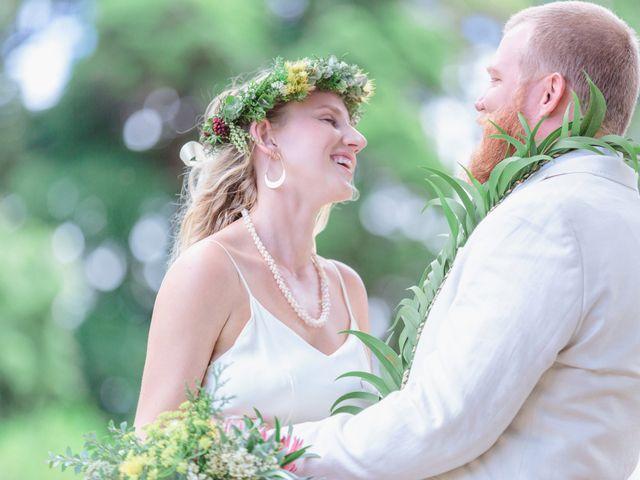 Shane and Madison's Wedding in Makawao, Hawaii 69