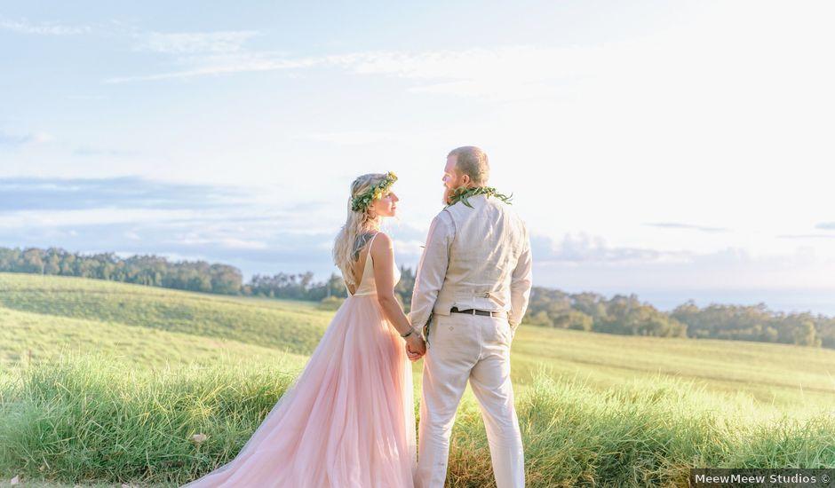Shane and Madison's Wedding in Makawao, Hawaii