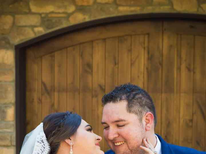 The wedding of Jenessa and Mark