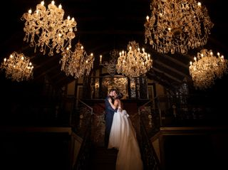 The wedding of Tatiana and Connor