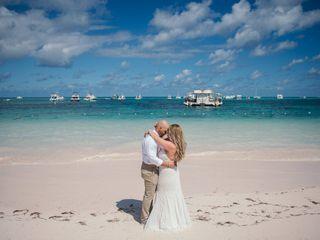 The wedding of Tanya and Kohlman