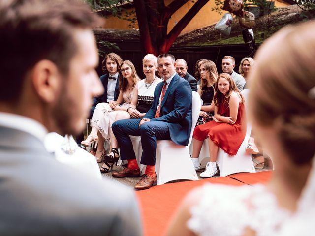 Sina and Franziska's Wedding in New York, New York 33