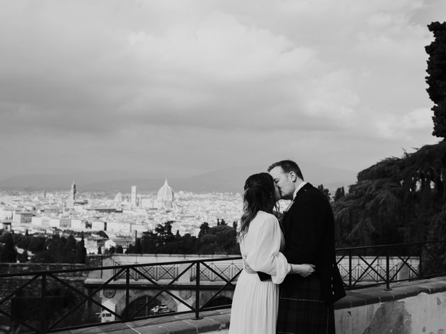Ronald and Yulia's Wedding in Florence, Italy 58