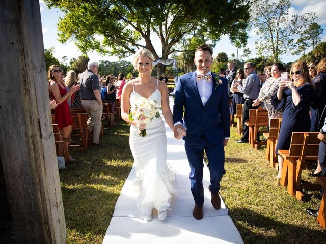 Jon and Sara's Wedding in Palm City, Florida 46