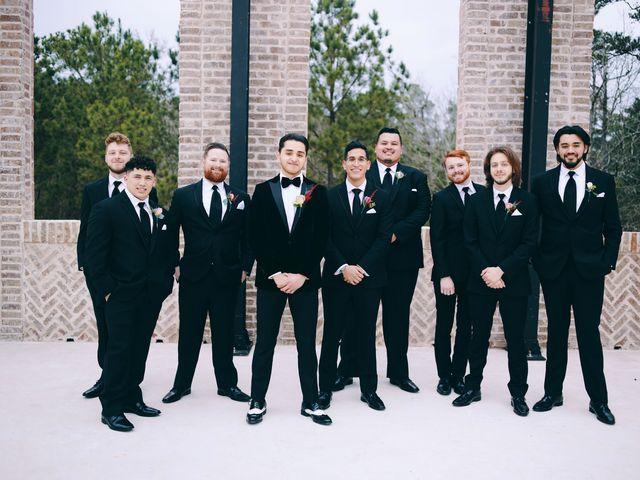 Axxa and Ruben's Wedding in Montgomery, Texas 30