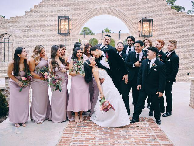 Axxa and Ruben's Wedding in Montgomery, Texas 32