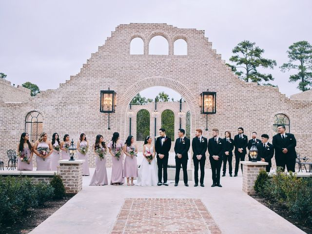Axxa and Ruben's Wedding in Montgomery, Texas 33
