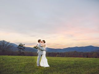 The wedding of Meredith and Zach