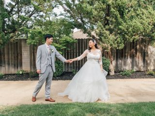 The wedding of Rebecca and Vinh