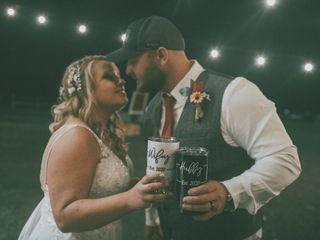 The wedding of Erika and Nick 1