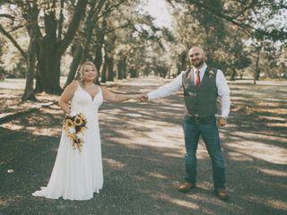 The wedding of Erika and Nick