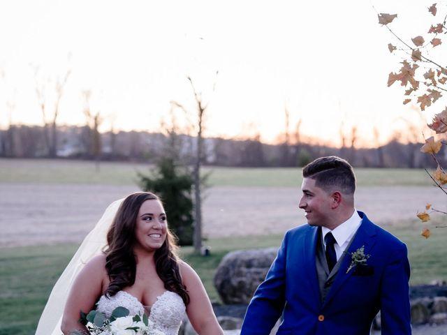 Mario and Angela's Wedding in Honey Brook, Pennsylvania 8