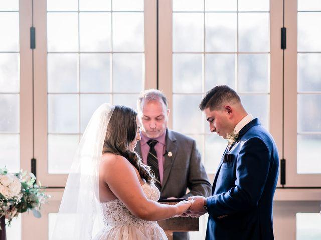 Mario and Angela's Wedding in Honey Brook, Pennsylvania 13