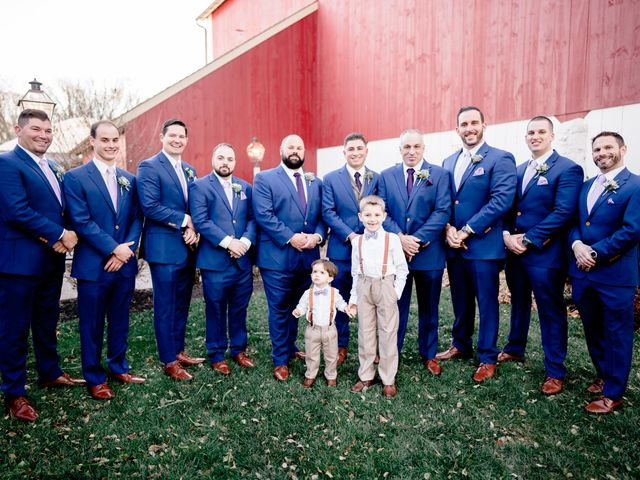 Mario and Angela's Wedding in Honey Brook, Pennsylvania 18