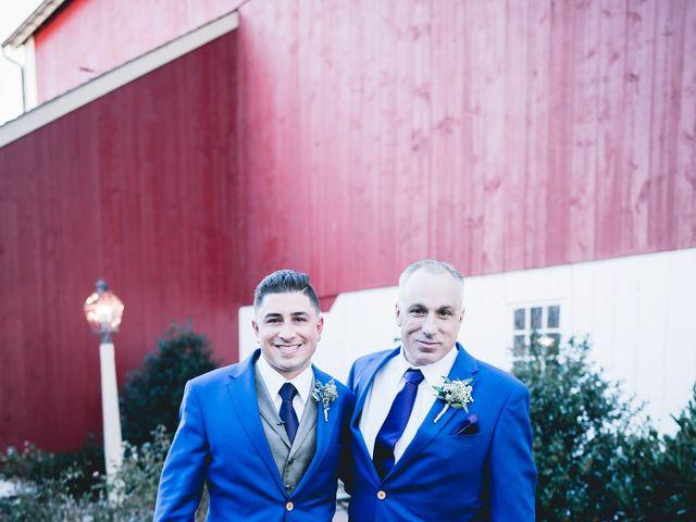 Mario and Angela's Wedding in Honey Brook, Pennsylvania 19