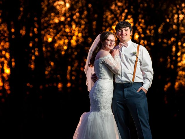 The wedding of Megan and Billy