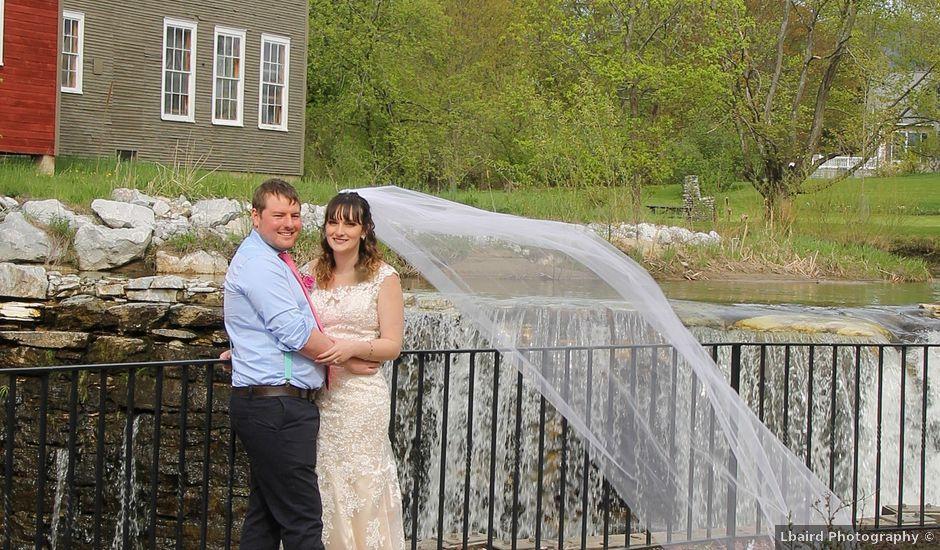 Andrea and Colin's Wedding in Brandon, Vermont
