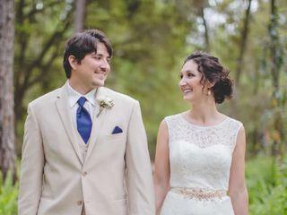 The wedding of Garrett and Loren 1