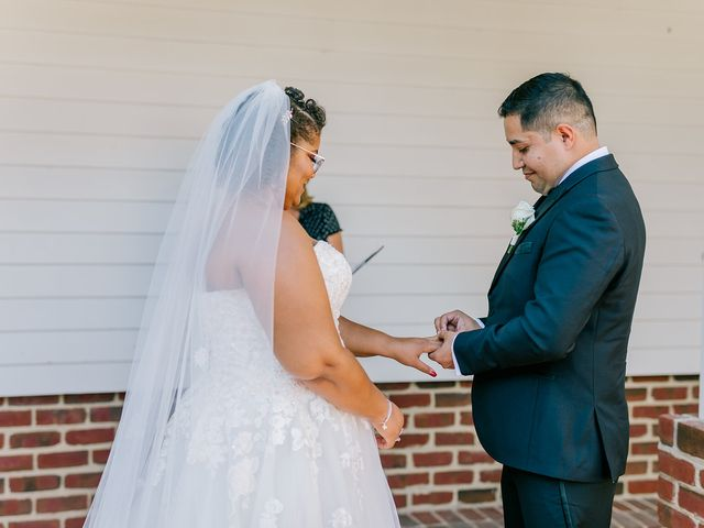 Allie and Elmer's Wedding in Hanover, Virginia 16