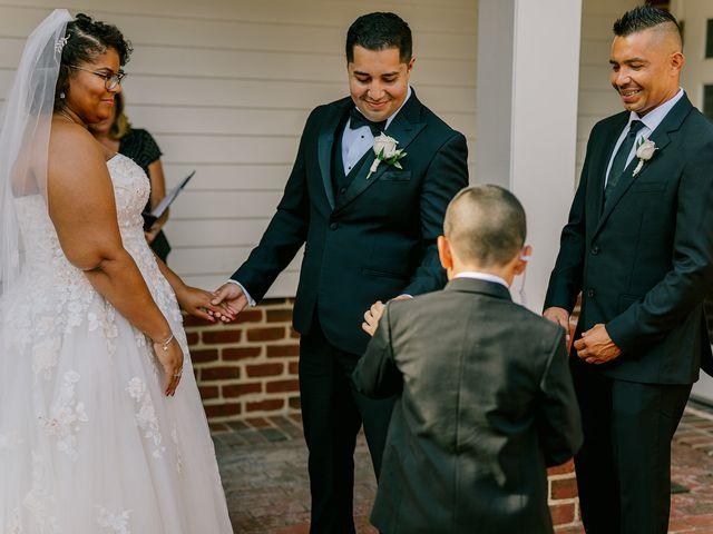 Allie and Elmer's Wedding in Hanover, Virginia 17