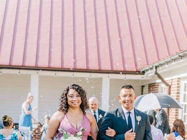 Allie and Elmer's Wedding in Hanover, Virginia 45