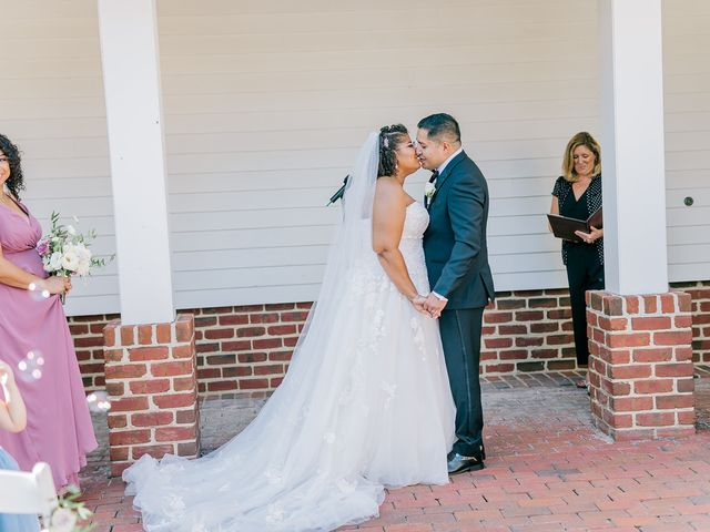 Allie and Elmer's Wedding in Hanover, Virginia 50