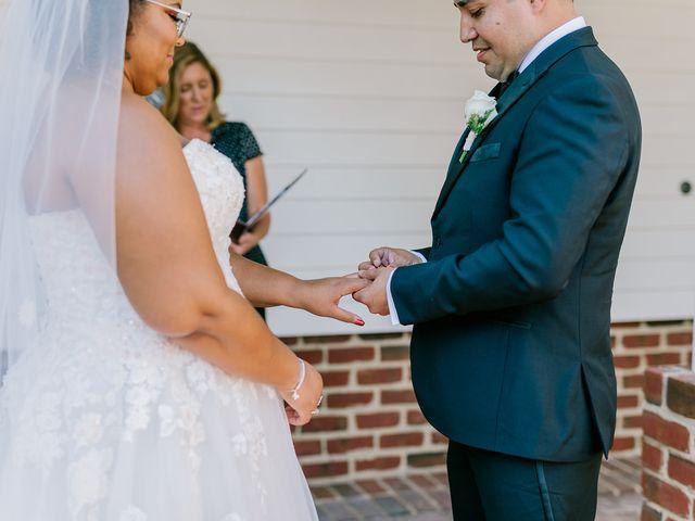 Allie and Elmer's Wedding in Hanover, Virginia 51