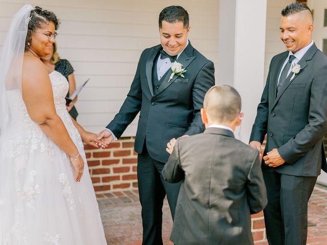 Allie and Elmer's Wedding in Hanover, Virginia 54