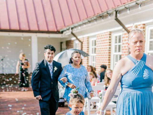Allie and Elmer's Wedding in Hanover, Virginia 70