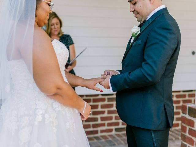 Allie and Elmer's Wedding in Hanover, Virginia 77
