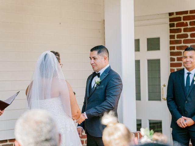Allie and Elmer's Wedding in Hanover, Virginia 78