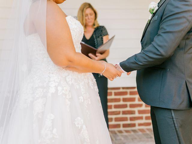 Allie and Elmer's Wedding in Hanover, Virginia 79