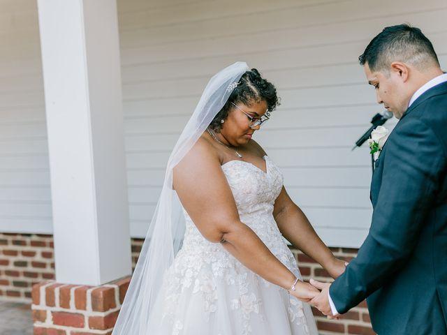 Allie and Elmer's Wedding in Hanover, Virginia 82